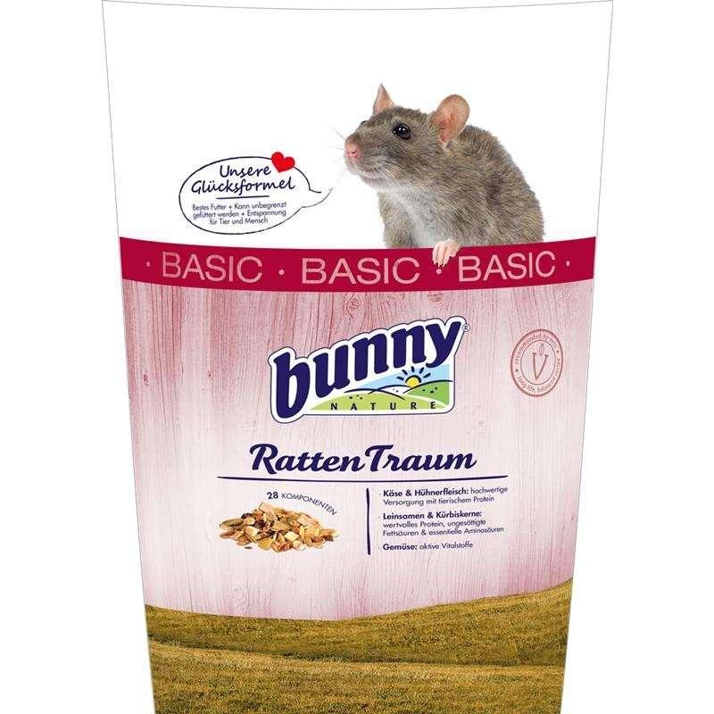 Bunny Nature Sueño de rata basic 500 g, 4 kg, 1 kg