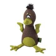 Stuffed toys Hunter Dog toy, Canvas, Bird, brown/green, 20cm