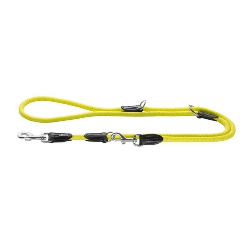 Hunter Verstelbare Hondenlijn Freestyle Neon  Geel