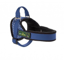 Harness Ludwigswelt Nylon, Blue/fleece Black Blue