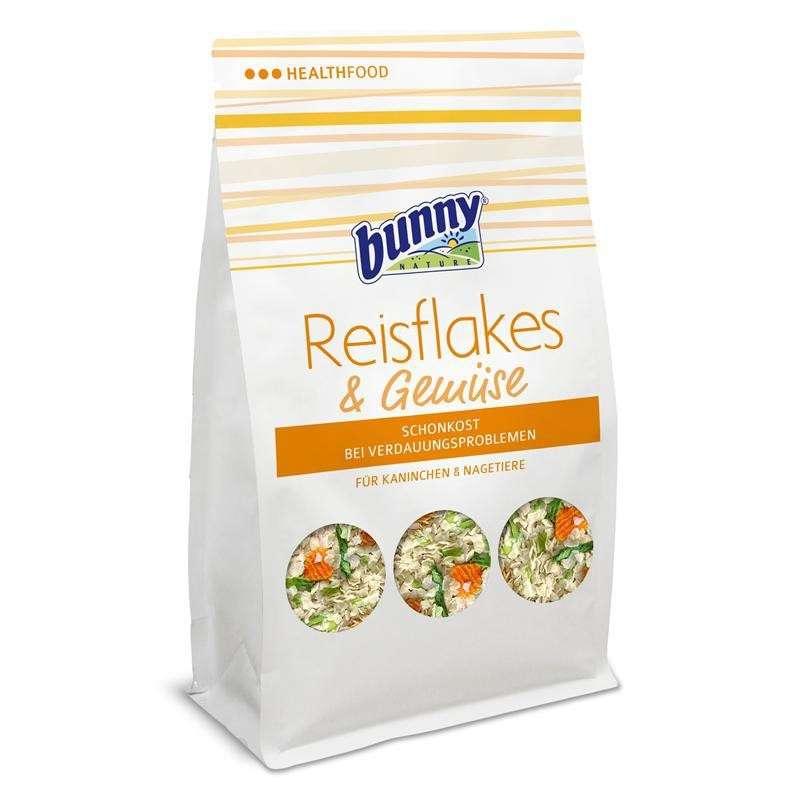 Bunny Nature Rijstvlokken & groente 80 g