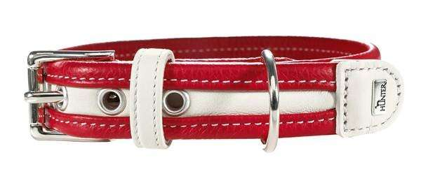 Collar Madeira Red / White 25-35x2.8 cm  from Hunter
