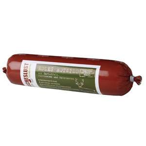Fleischeslust Hypoallergenic Noble Deer with Potatoes, Parsnips and wild Berries 400 g