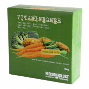 Vitamin bomb with Carrots, Potatoes & Broccoli 300 g