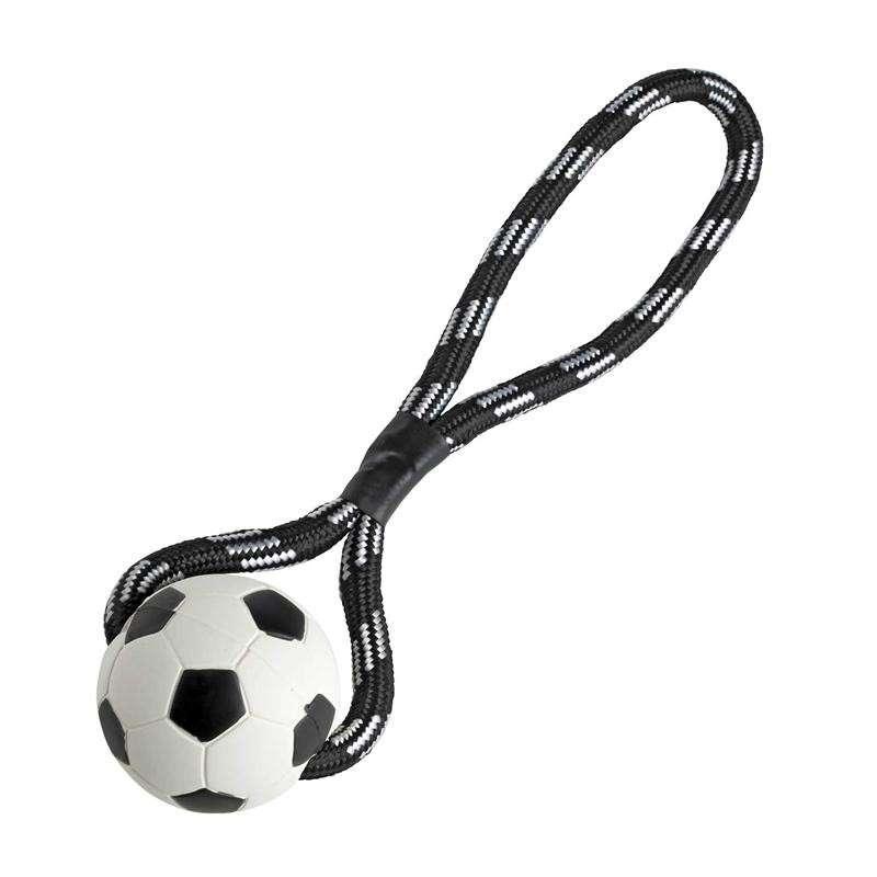 Hunter Speelgoed Voetbal met Koord 7.5/30 cm  met korting aantrekkelijk en goedkoop kopen