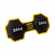 Dog toy Dog Gym Dumbbell Nylon, black, 26cm Sort