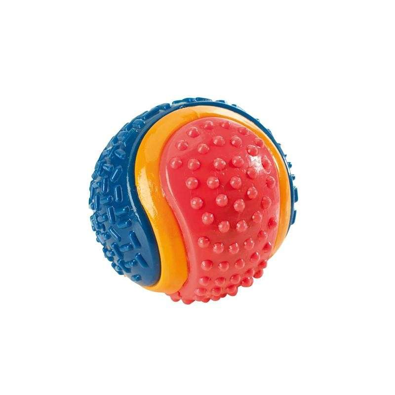Hunter Hondenspeelgoed TPR Ball, Tricolor