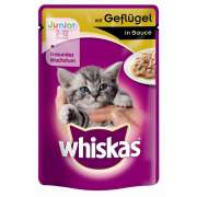 Whiskas Junior with Poultry in gravy 100 g