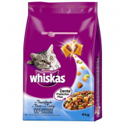 Whiskas Dry Adult with Tuna 4 kg