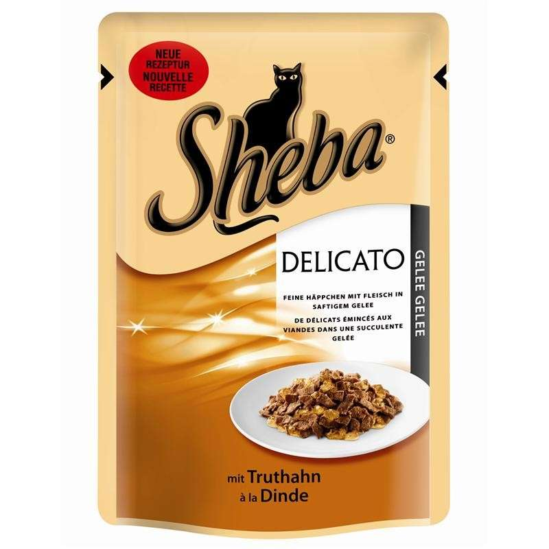Flakes in Jelly with Turkey by Sheba 85 g buy online