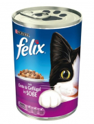 Felix Chunks with Duck and Poultry in Sauce 400 g