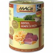 MAC's Dog - Reindeer, Vegetables & Pasta, Canned 400 g