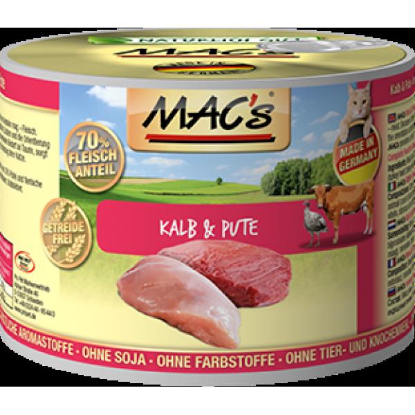 MAC's Kalb & Pute 200 g 4027245008031 Erfahrungsberichte