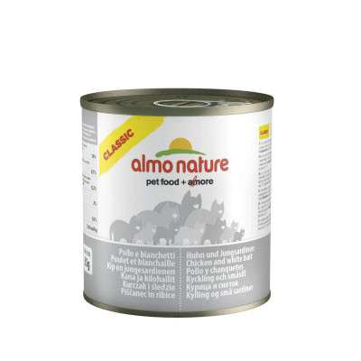 Almo Nature HFC Natural Pollo y chanquetes 280 g 8001154125108 opiniones