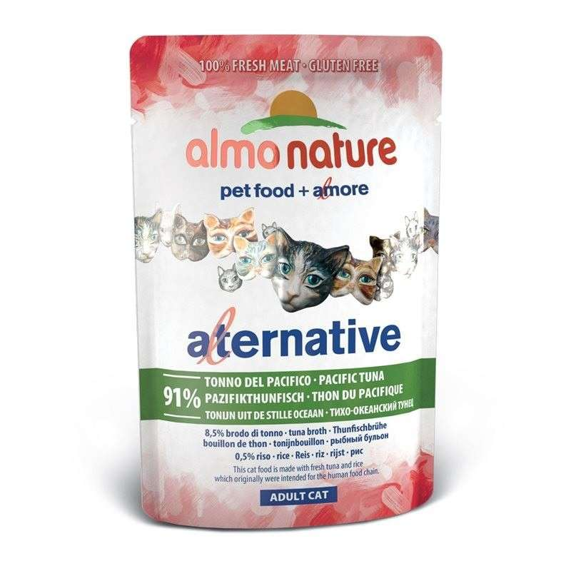 Almo Nature Alternative Tyynenmeren Tonnikala 55 g