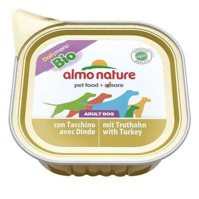 Almo Nature DailyMenu BIO Adult Dog Kalkoen 100 g, 300 g