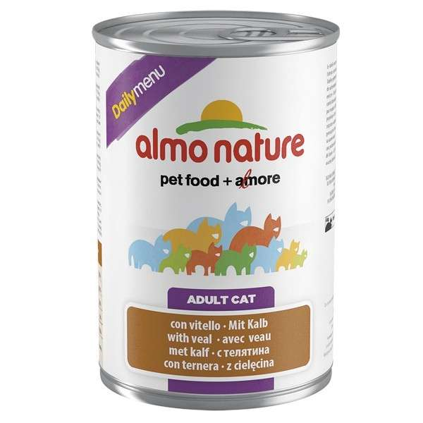 Almo Nature DailyMenu Adult Cat Kalf 400 g 8001154125597