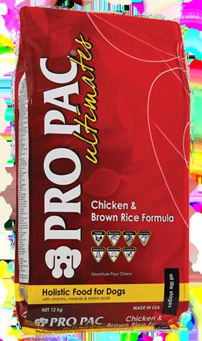 PRO PAC Ultimates Adult Kip & Bruine Rijst 2.50 kg