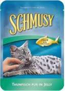 Comida húmeda Schmusy Bolsitas Peces Atún Pura 100g