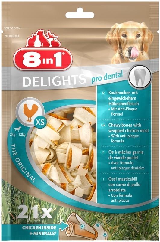 8in1 Delights Pro Dental XS 4048422117261 kokemuksia
