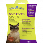 FURminator Shed Control Cloths 12un