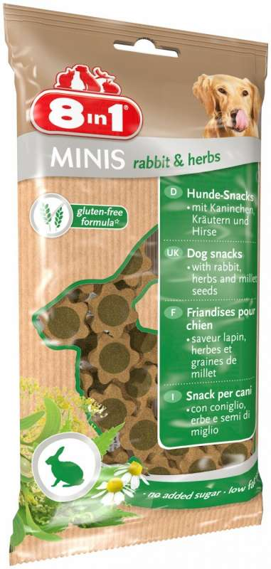 8in1 Minis Rabbit & Herbs 100 g