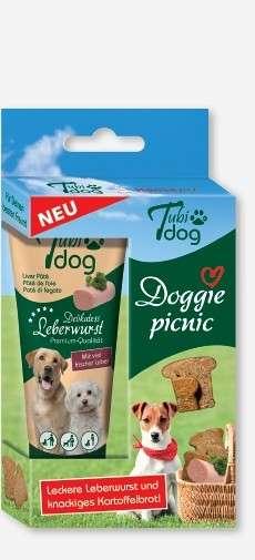 Hansepet - Tubidog Doggie picnic 125 g kjøp billig med rabatt