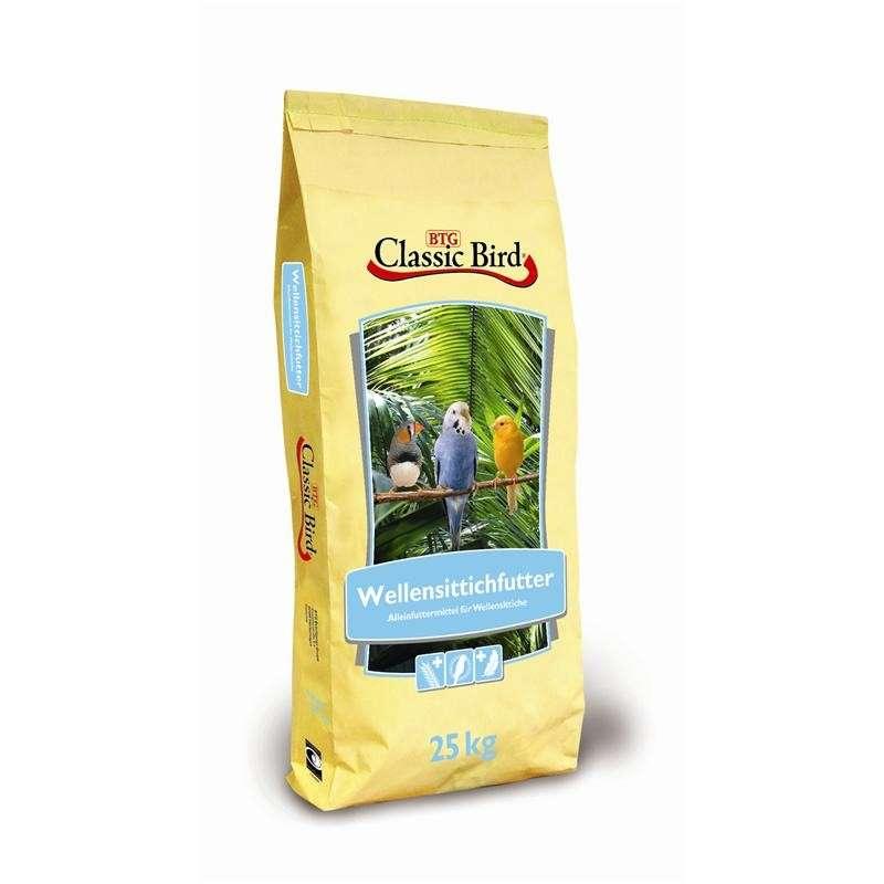 Classic Bird Budgies food with oats 25 kg osta edullisesti