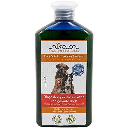 Arava Hond Verzorging Shampoo voor Jeukende en Geïrriteerde Huid 400 ml  met korting aantrekkelijk en goedkoop kopen