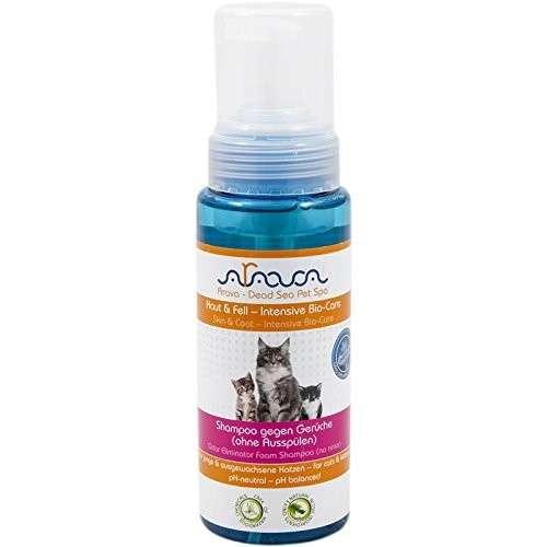 Arava Kat Shampoo tegen Geuren zonder Spoelen 250 ml  met korting aantrekkelijk en goedkoop kopen