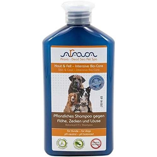 Arava Honden kruidenshampoo tegen vlooien, teken en luizen 400 ml  met korting aantrekkelijk en goedkoop kopen