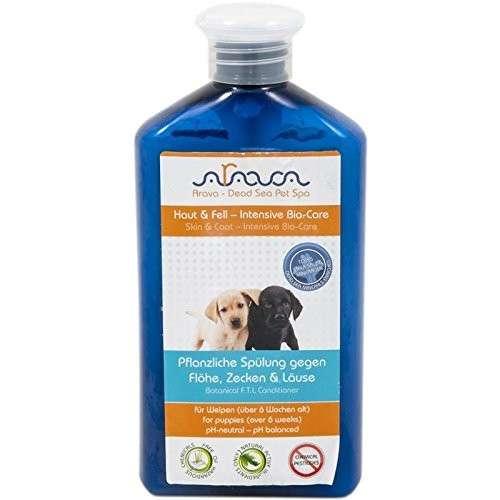 Arava Honden Conditioner voor Puppy's tegen Vlooien, Teken en Luizen 400 ml