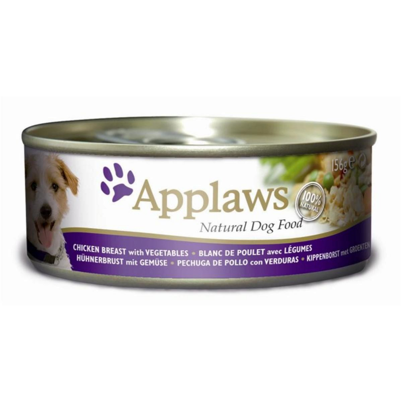 Applaws Dog Latas Pollo, Verduras y Arroz 156 g 5060333432584 opiniones