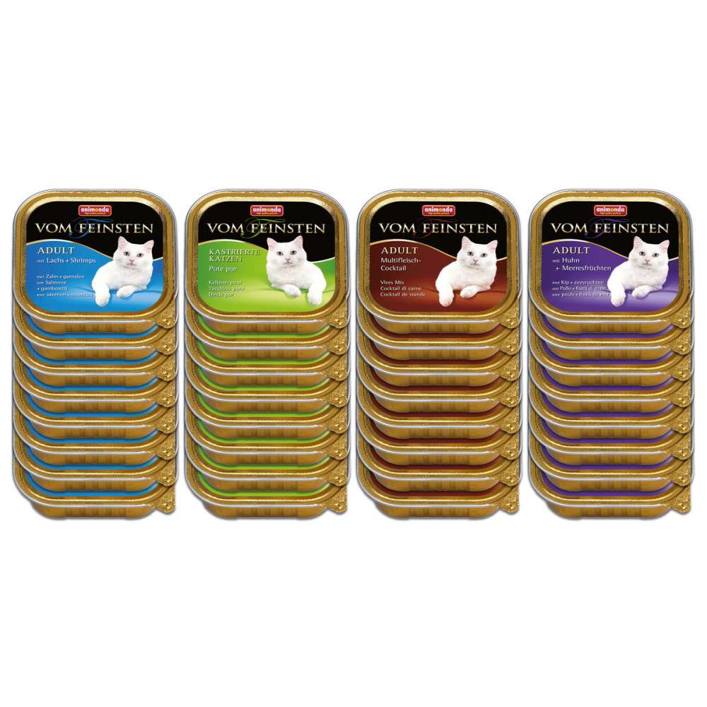 Animonda Vom Feinsten Megapack Assorted Fish&Meat 32x100 g