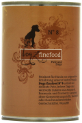 Dogz Finefood No.8 Turkey and Goat 400 g