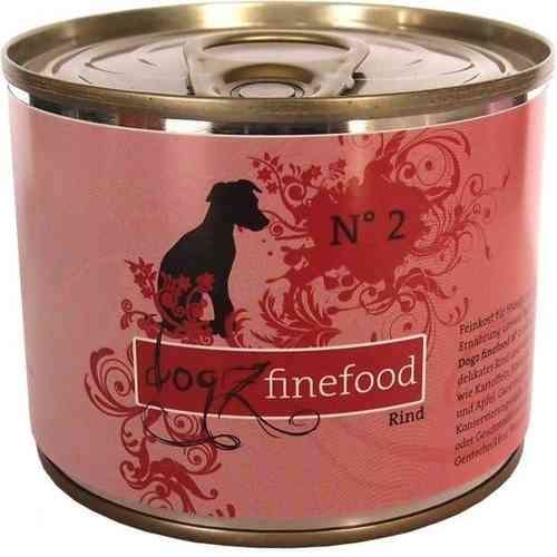 Dogz Finefood No. 2 Rind 200 g