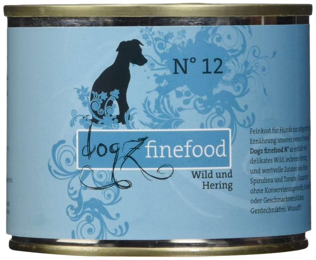 Dogz Finefood No.12 Wild & Hering 400 g, 200 g, 800 g, 100 g