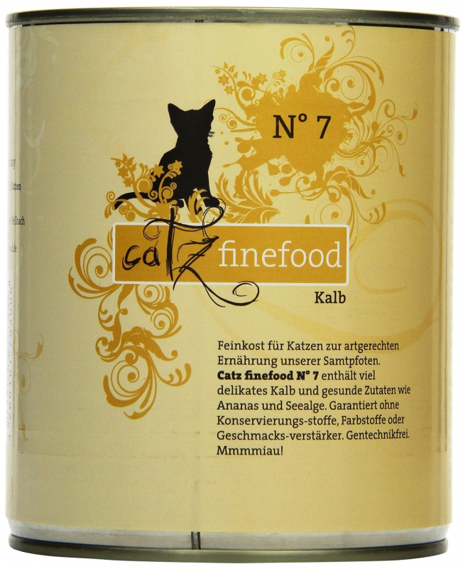 Catz Finefood No.7 Veal 200 g, 400 g, 800 g, 85 g test