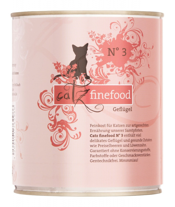 Catz Finefood No. 3 Poultry 800 g