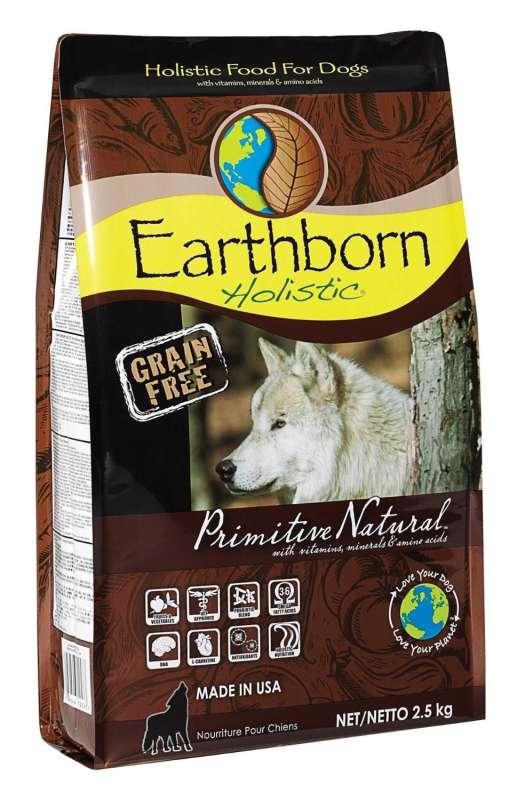 Earthborn Holistic Dog Primitive Natural 2.5 kg, 120 g, 12 kg