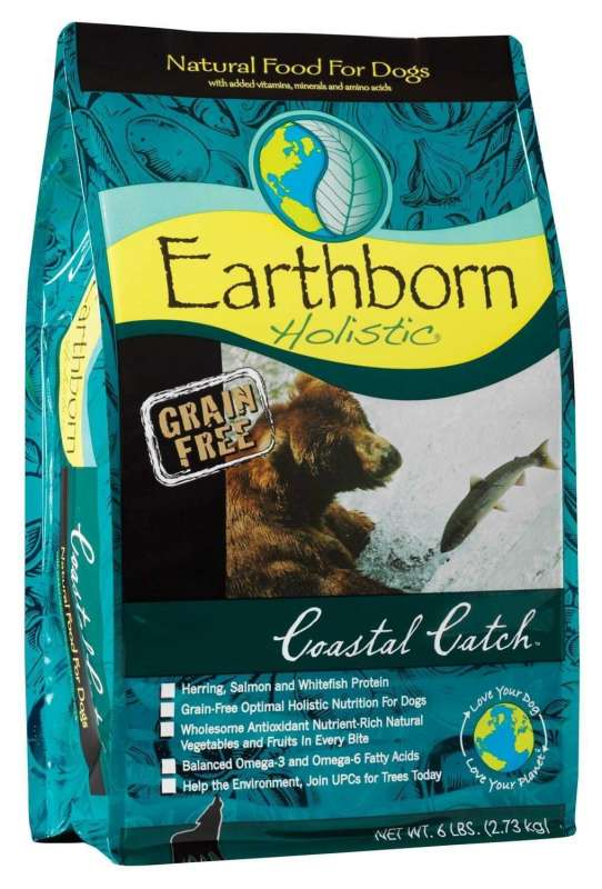 Earthborn Holistic Coastal Catch 12 kg, 120 g, 2.5 kg