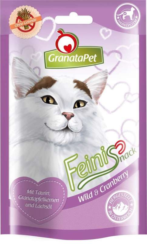 GranataPet FeiniSnack Game & Cranberry 50 g test