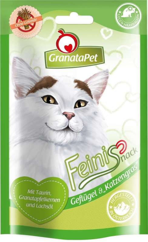 GranataPet FeiniSnack Chicken & Cat Grass 50 g