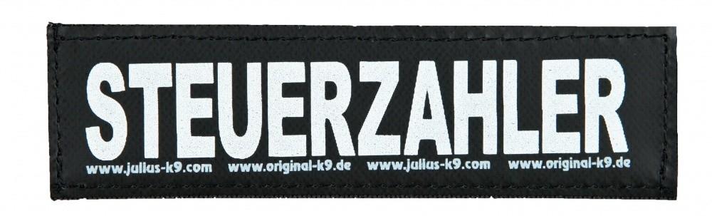 """Julius K9 Velcro Sticker """"Steuerzahler"""" FREIZEITGESTALTER  5999053650766 anmeldelser"""