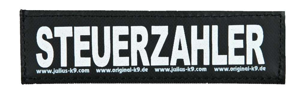 "Julius K9 Etiqueta de Velcro ""Steuerzahler"" FREIZEITGESTALTER  5999053650766 opiniones"