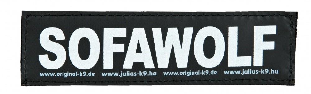"""Julius K9 Etiqueta de Velcro """"SofaWolf"""" FREIZEITGESTALTER"""