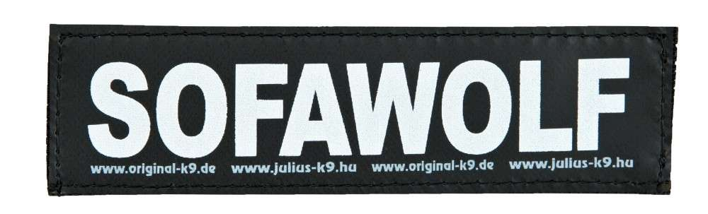 "Julius K9 Kardborrmärke ""SofaWolf"" FREIZEITGESTALTER"