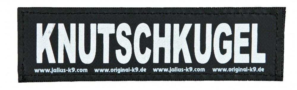 """Julius K9 Velcro Sticker """"Knutschkugel""""  L KNUTSCHKUGEL"""