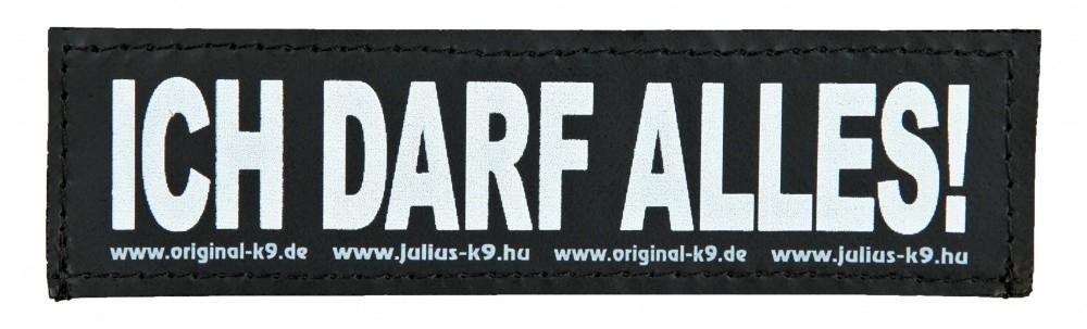 "Julius K9 Kardborrmärke ""Ich Darf Alles!"" 5999053650766 erfarenheter"