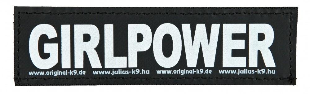 """Julius K9 Kardborrmärke """"Girlpower"""" 5999053650766 erfarenheter"""